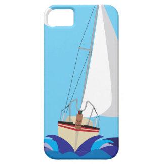 Tiki Sail Boat iPhone 5 Cover