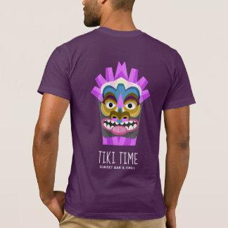 Tiki Time Hawaiian Beachcomber T-Shirt