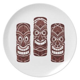 Tiki Time Plate