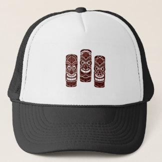 Tiki Time Trucker Hat
