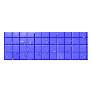 [TIL-BLU-1] Blue shower tile Business Card Template