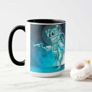 TILDE ALIEN ROBOT CARTOON Combo Mug
