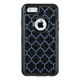 TILE1 BLACK MARBLE & BLUE DENIM OtterBox DEFENDER iPhone CASE