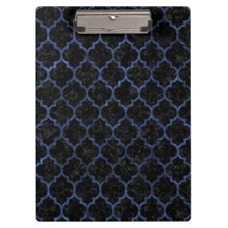 TILE1 BLACK MARBLE & BLUE STONE CLIPBOARD