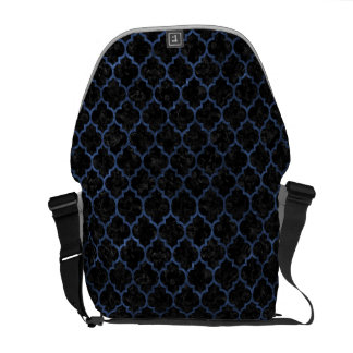 TILE1 BLACK MARBLE & BLUE STONE COURIER BAGS