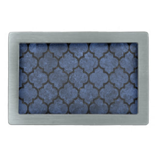 TILE1 BLACK MARBLE & BLUE STONE (R) BELT BUCKLES