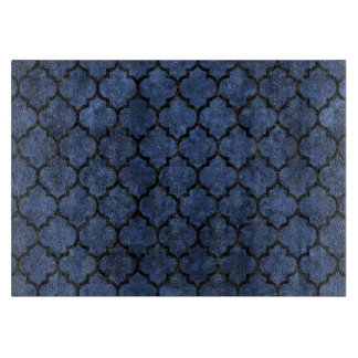 TILE1 BLACK MARBLE & BLUE STONE (R) CUTTING BOARD