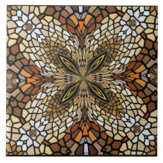 Tile Art - Stained Glass Look