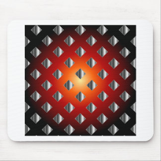 Tile background mouse pad