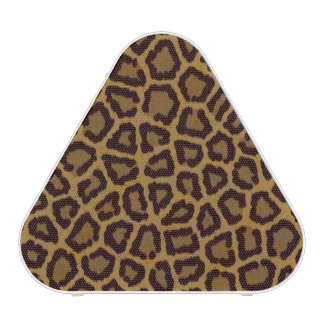 Tile background with a leopard fur