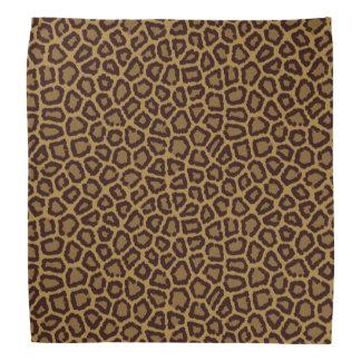 Tile background with a leopard fur kerchief