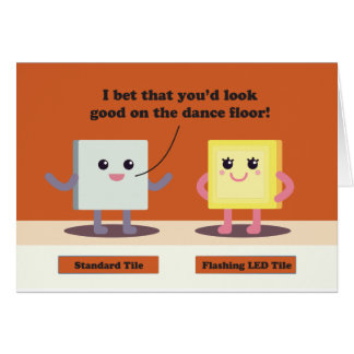 Tile Chat Up Line Card