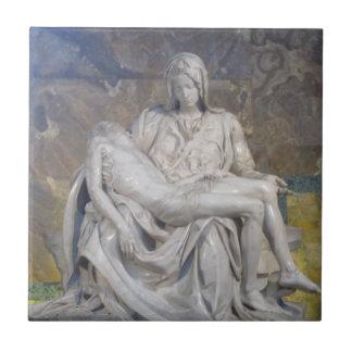 Tile--La Pieta Small Square Tile
