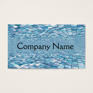 Tile Mosaic Pattern Business Cards