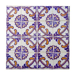 Tile pattern close-up, Portugal