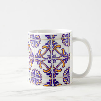 Tile pattern close-up, Portugal Coffee Mug