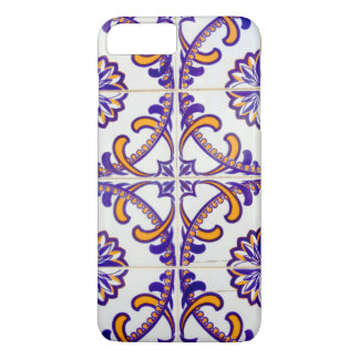 Tile pattern close-up, Portugal iPhone 8 Plus/7 Plus Case