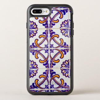 Tile pattern close-up, Portugal OtterBox Symmetry iPhone 8 Plus/7 Plus Case