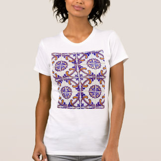 Tile pattern close-up, Portugal T-Shirt