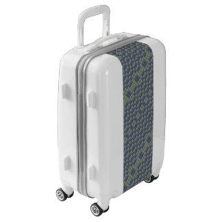 Tile pattern luggage