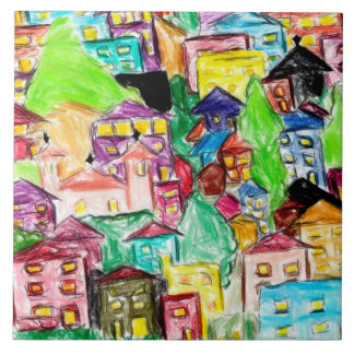 Tile prints slum