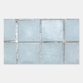 tile rectangular sticker