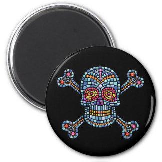 Tile Skull 1 Magnet
