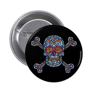 Tile Skull 1 Pin