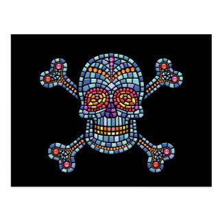 Tile Skull 1 Post Card