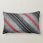 Tile Stripe Lumbar Cushion