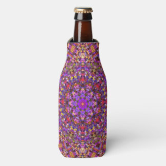 Tile Style  Kaleidoscope   Custom Bottle Cooler