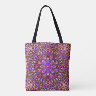 Tile Style Pattern  All-Over-Print Tote Bag