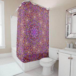 Tile Style Pattern   Custom Shower Curtain