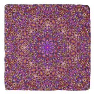Tile Style Pattern  Custom Stone Trivets