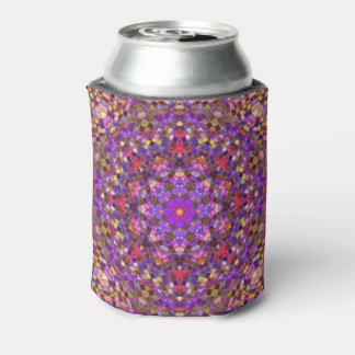 Tile Style Pattern   Kaleidoscope  Can Cooler