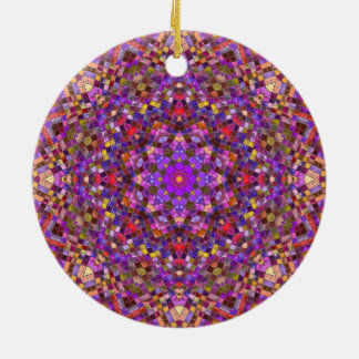 Tile Style Pattern Ornaments 6 shapes