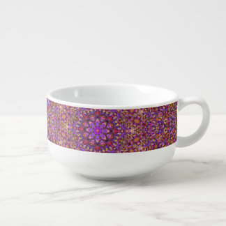 Tile Style Pattern  Soup Mug