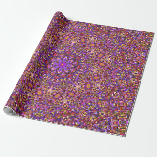 Tile Style Pattern  Wrapping Paper, 4 styles