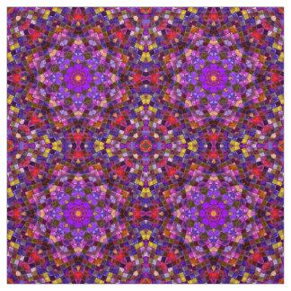 Tile Style Two Kaleidoscope  Fabric, 7 styles Fabric