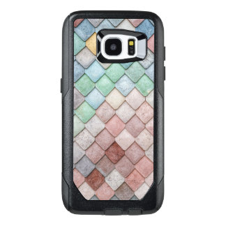 Tile Texture Pattern OtterBox Samsung Galaxy S7 Edge Case