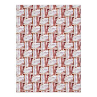 Tiled Bacon Weave Pattern Card