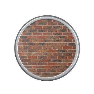 Tiled Brick Wall Urban Texture Pattern Bluetooth Speaker