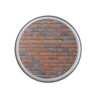Tiled Brick Wall Urban Texture Pattern Speaker