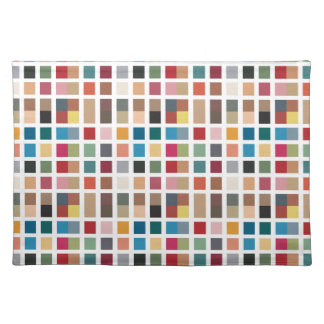Tiled Chic Hipster Placemat