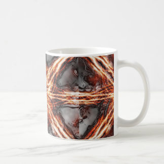 Tiled Dark Flame Vortex Mug