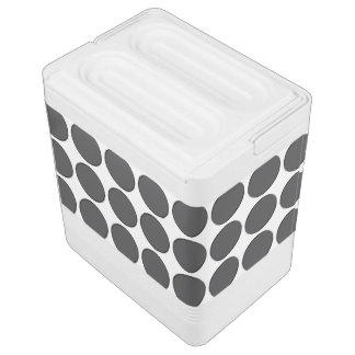 Tiled DarkGrey Dots Cooler