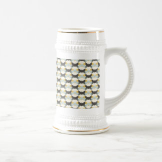 TILED DECORATIVE EGG SHAPE PATTERN BACKGROUDS WALL COFFEE MUGS