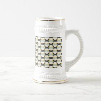 TILED DECORATIVE EGG SHAPE PATTERN BACKGROUDS WALL COFFEE MUGS