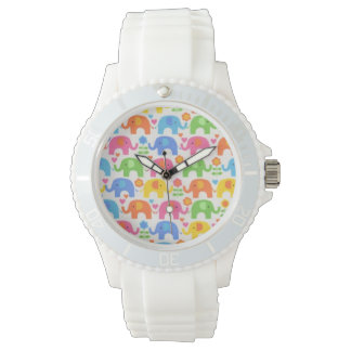 Tiled Elephant Watch