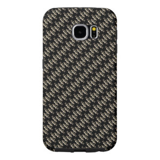Tiled Little Bass Fish U Pick Background Color Samsung Galaxy S6 Cases